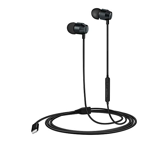 PALOVUE Lightning Headphones Earphones Earbuds in-Ear Magnetic MFi Certified