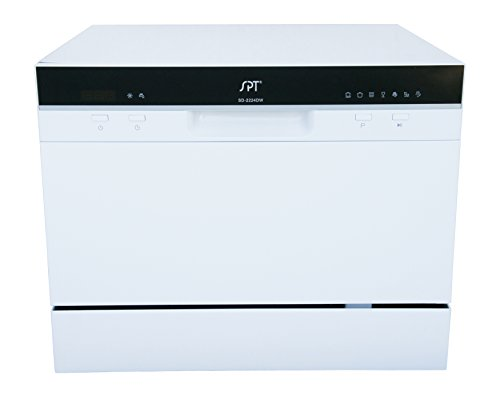 SPT SD-2224DW Compact Countertop Dishwasher