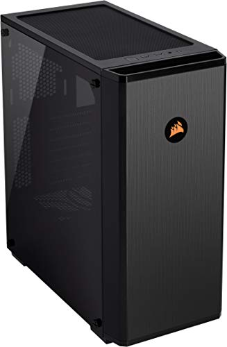 Corsair Carbide Series 175R RGB Tempered Glass Mid-Tower ATX Gaming Case - Black