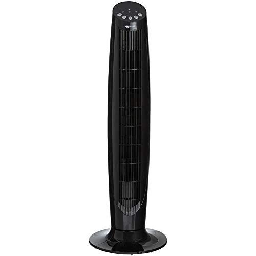 Amazon Basics Digital Oscillating 3 Speed Tower Fan