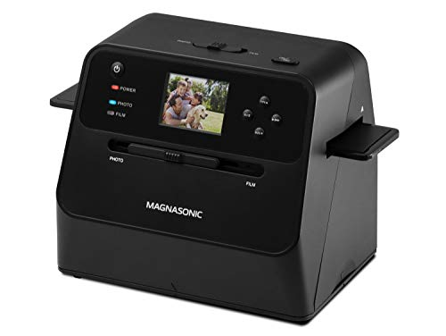 Magnasonic All-in-One Film & Photo Scanner