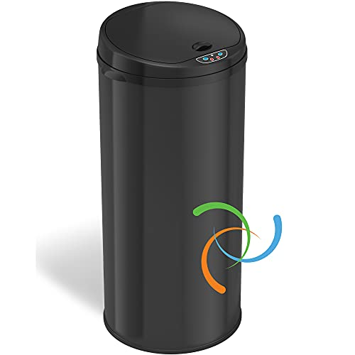 iTouchless 13 Gallon Automatic Trash Can with Odor Control System