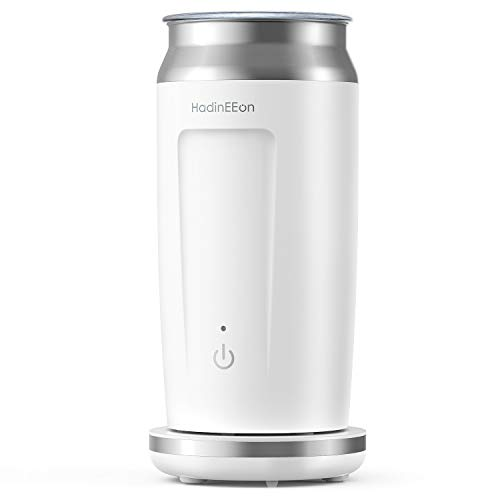 HadinEEon Milk Frother, 4 in 1 Electric Magnetic Milk Frother