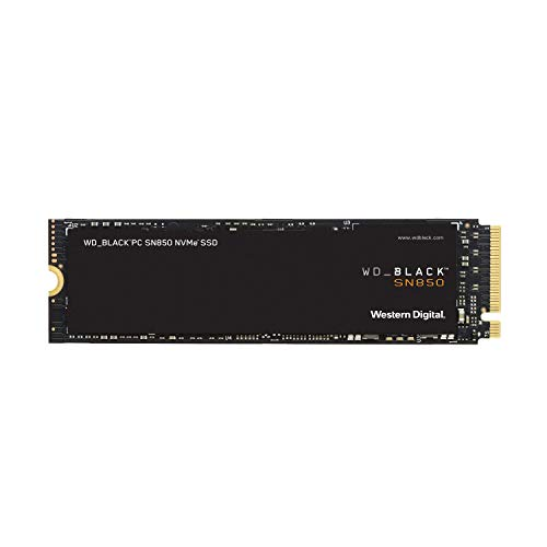 Western Digital 1TB WD_Black SN850 NVMe Internal Gaming SSD - Gen4 PCIe, M.2 2280, Up to 7000 MB/s - WDS500G1X0E
