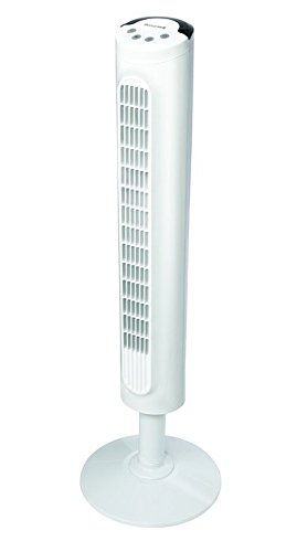 Honeywell White Comfort Control Tower Fan