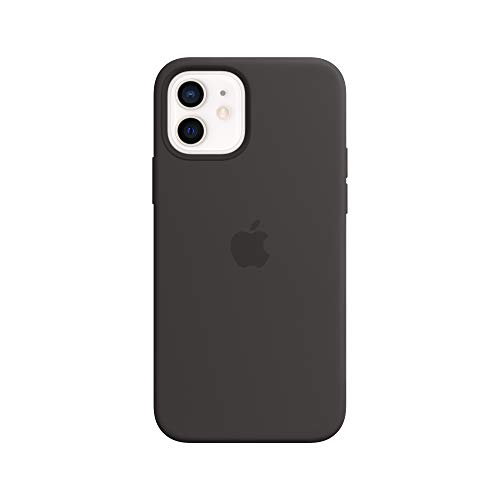 Apple Silicone Case with MagSafe (for iPhone 12 | 12 Pro) - Black