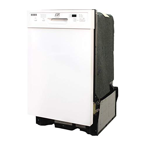 SD-9254W: Energy Star 18 Inch Built-In Dishwasher w/Heated Drying