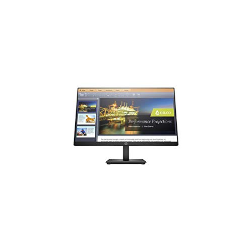 HP P224 21.5 Inch Full HD LED LCD Monitor - HDMI - DisplayPort - 1920 x 1080