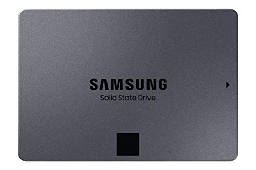 SAMSUNG 870 QVO-Series 2.5' SATA III Internal SSD Single Unit Version 1TB (MZ-77Q1T0B/AM)