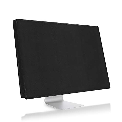 kwmobile Monitor Cover Compatible with 31-32' Monitor - Anti-Dust PC Monitor Screen Display Protector - Black