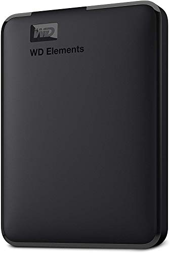 WD 1TB Elements Portable External Hard Drive