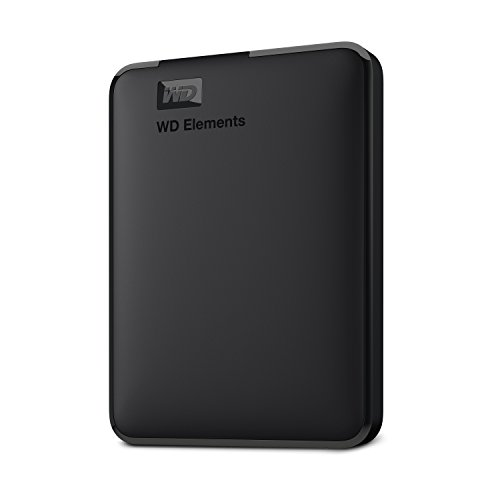 WD 4TB Elements Portable External Hard Drive HDD, USB 3.0, Compatible with PC, Mac, PS4 & Xbox - WDBU6Y0040BBK-WESN