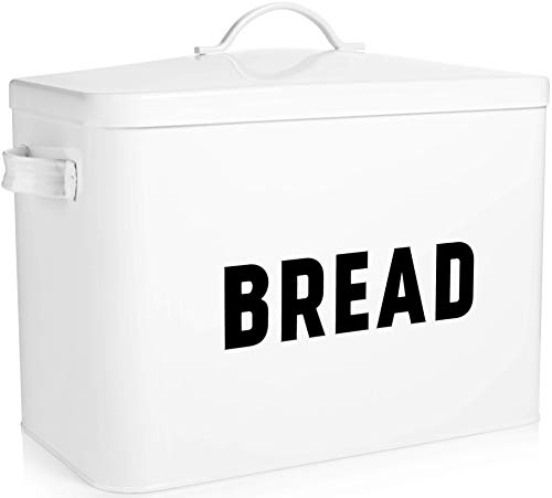 Bread Box for Kitchen Countertop by Claimed Corner