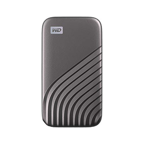 WD 1TB My Passport SSD External Portable Drive, Gray, Up to 1,050 MB/s - WDBAGF0010BGY-WESN