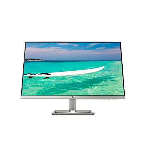 HP Newest 27' Widescreen IPS LED Full HD (1920 x 1080) Monitor, 10,000,000:1 Contrast Ratio, 5 ms Response Time, FreeSync, 2X HDMI and 1x VGA Input, 178° View Angle, 75Hz Refresh Rate, Natural Silver
