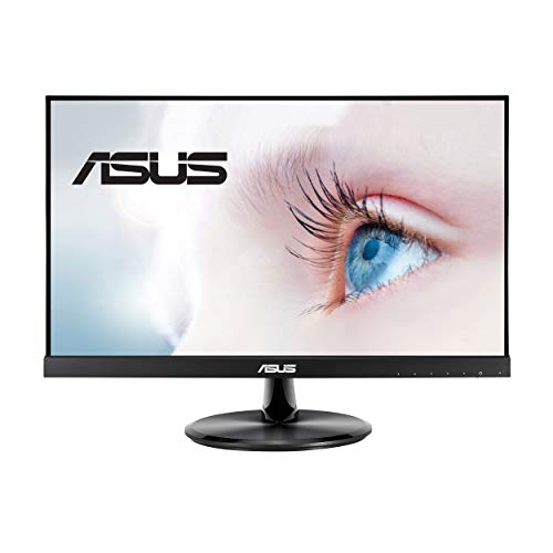 "ASUS VP229HE 21.5"" Monitor, 1080P Full HD, 75Hz, IPS, FreeSync/Adaptive-Sync, Eye Care, HDMI VGA, Frameless, VESA Wall Mountable, BLACK"