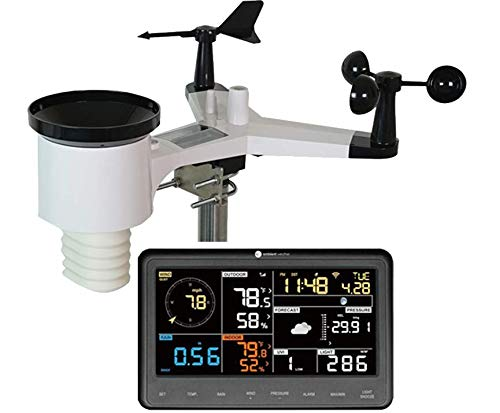 Ambient Weather WS-1900A Solar Powered Professional Weather Station