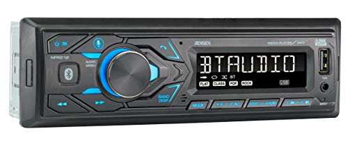 JENSEN MPR210 7 Character LCD Single DIN Car Stereo Receiver