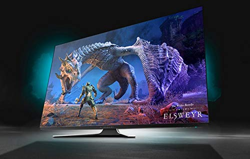 Alienware 55 OLED Gaming Monitor: AW5520QF, World's First 55' OLED Gaming Monitor. Featuring 4K Resolution 3840 x 2160 at 120Hz True-to-Life Colors, Low Input Latency and AW Legend Industrial Design