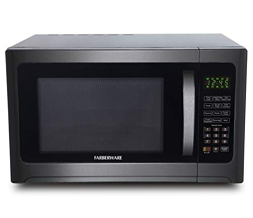 Farberware 1100-Watt Microwave Oven with Grill