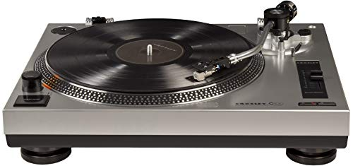 Crosley C100 Belt-Drive Turntable with S-Shaped Tone Arm