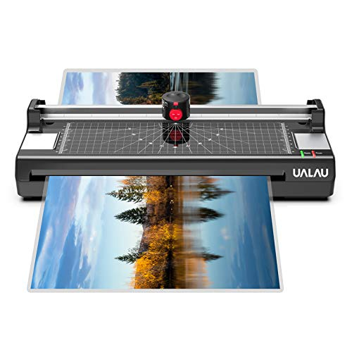 13 Inches Laminator Machine, UALAU 7 in 1 Thermal Laminator
