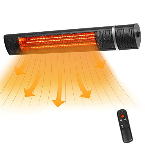 VQVG Wall-Mounted Infrared Heater, 1500W