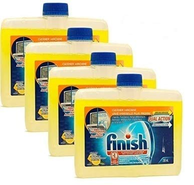 Finish Dishwasher Machine Cleaner, Dual Action to Fight Grease & Limescale, Citrus Fresh, 8.45 Fl Oz