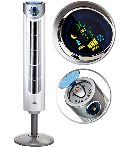 "Ozeri Ultra 42"" Wind Adjustable Tower Fan"
