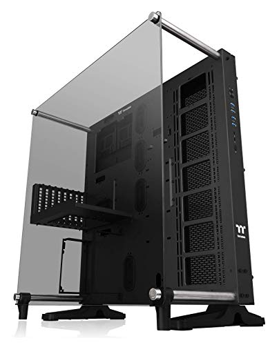 Thermaltake Core P5 Tempered Glass V2 Black Edition Open Frame Vertical GPU Modular ATX Computer Case CA-1E7-00M1WN-05