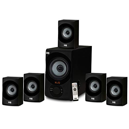 Acoustic Audio AA5172 700W Bluetooth Home Theater 5.1 Speaker System