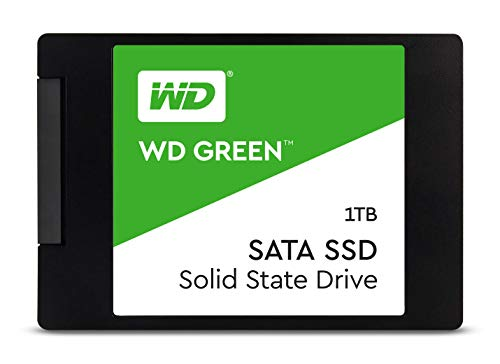 Western Digital 1TB WD Green Internal PC SSD - SATA III 6 Gb/s, N/A, 2.5'/7mm, - WDS100T2G0A