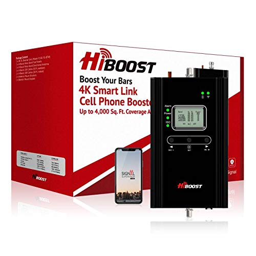 HiBoost Cell Phone Signal Booster for Home