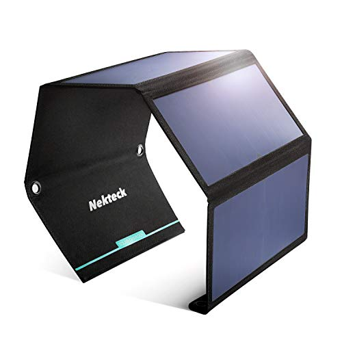 Nekteck 28W Portable Solar Panel Charger