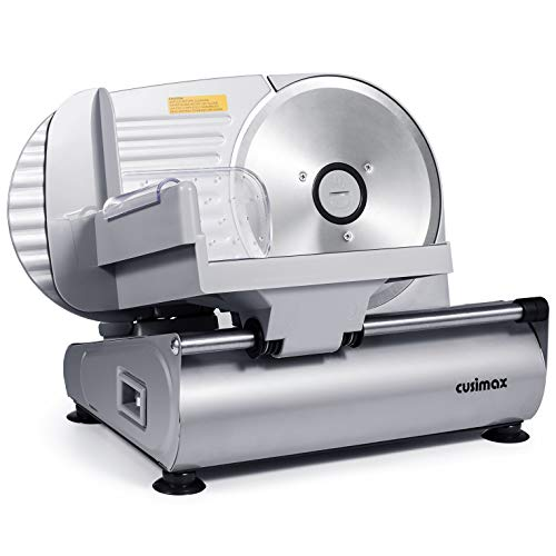 Meat Slicer, CUSIMAX Electric Deli Food Slicer