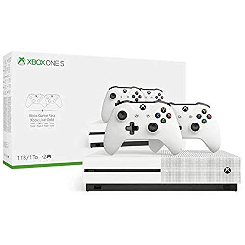 Xbox One S Two Controller Bundle