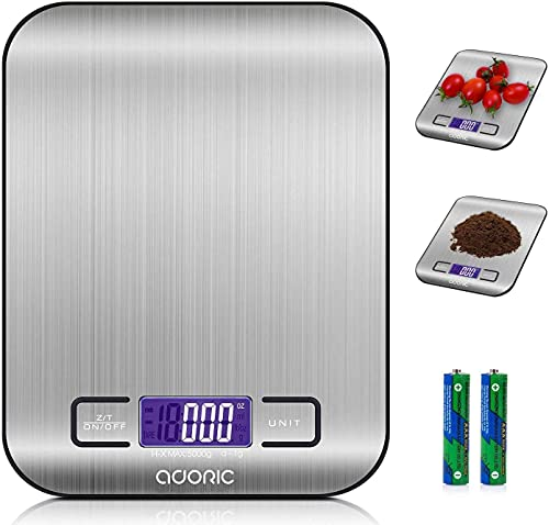 Adoric Digital Kitchen Scale Food Scale