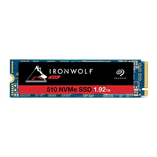 Seagate IronWolf 510 1.92TB NAS SSD Internal Solid State Drive – M.2 PCIe for Multibay RAID System Network Attached Storage, 3 Year Data Recovery (ZP1920NM30011)