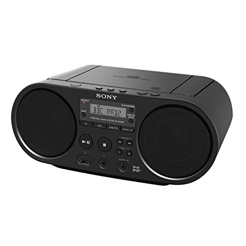 Sony ZS-PS55B CD Boombox with DAB and FM Radio