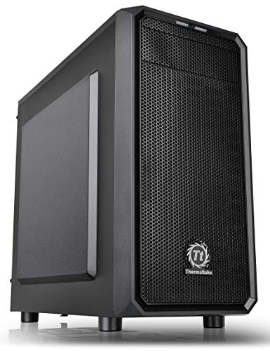Thermaltake Versa H15 Micro ATX Mini Tower Computer Chassis with One 120mm Rear Fan Pre-Installed CA-1D4-00S1NN-A0