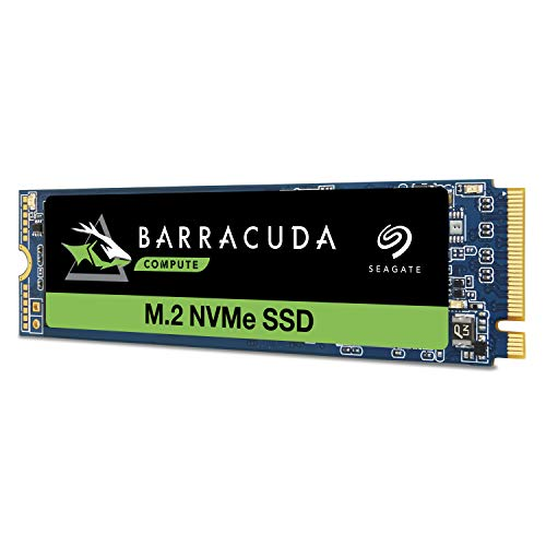 Seagate Barracuda 510 500GB SSD Internal Solid State Drive PCIe Nvme 3D TLC NAND for Gaming PC Gaming Laptop Desktop (ZP500CM30001) ZP500CM3A001