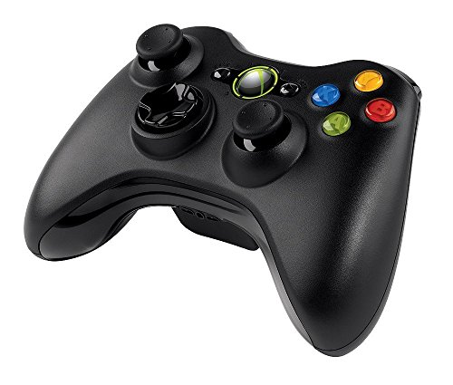 Microsoft Xbox 360 Wireless Controller Brand New Black (Shipped in Bulk Packaging)