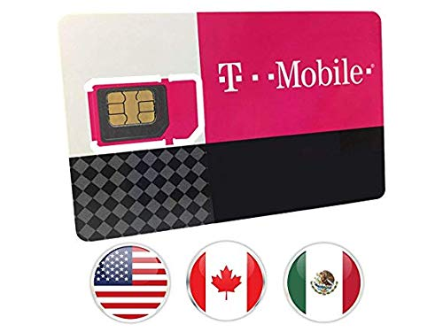 T-Mobile Prepaid SIM Card Talk, Text & Data (7 Days)