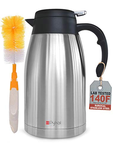 Pykal Thermal Coffee Carafe Stainless Steel