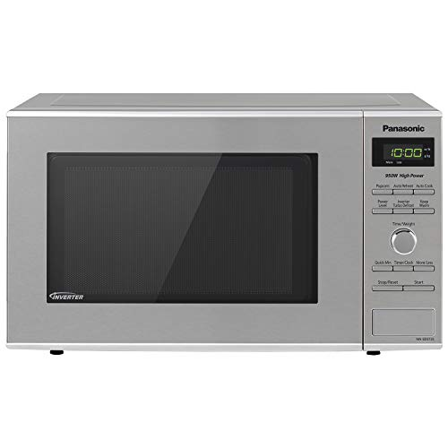 Panasonic Microwave Oven NN-SD372S Stainless Steel Built-In