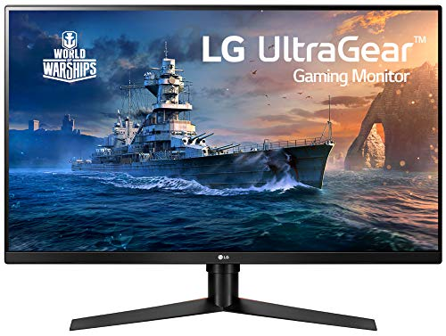 'LG 32GK650F-B 32' QHD Gaming Monitor with 144Hz Refresh Rate and Radeon FreeSync Technology', Black