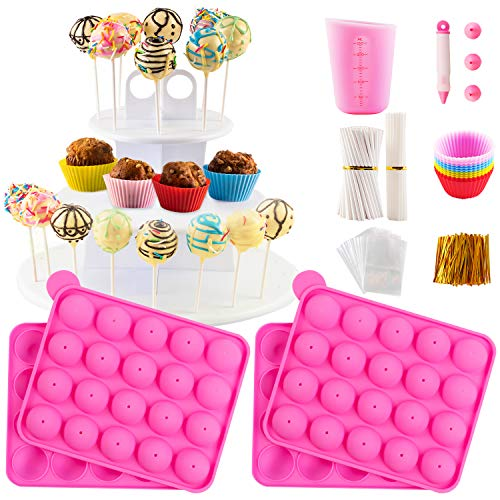 Cake Pop Maker Set with Silicone Molds