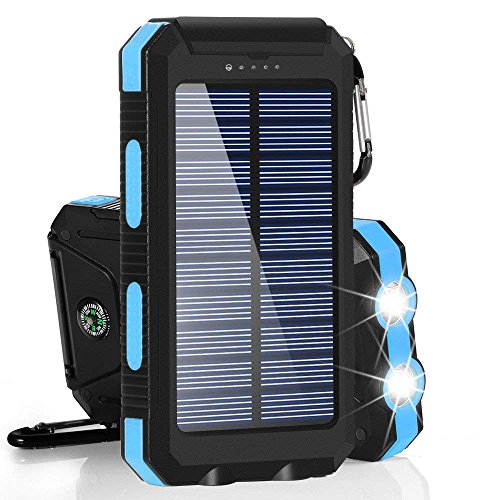Dualpow Solar Charger 30000mAh