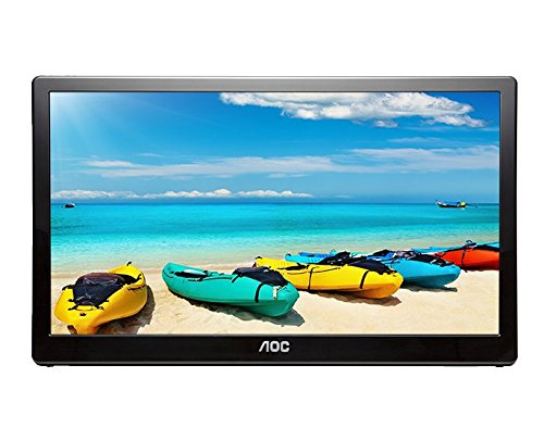 AOC I1659FWUX 15.6' USB-powered portable monitor, Full HD 1920x1080 IPS, Built-in Stand, VESA