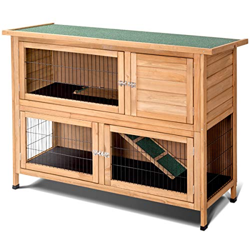 PETSJOY Wooden Rat Cage